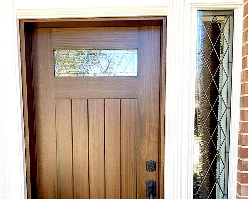 Tudor windows for Sidelights