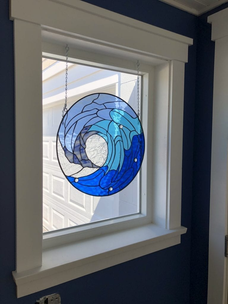 stained-glass-wave-hung-up