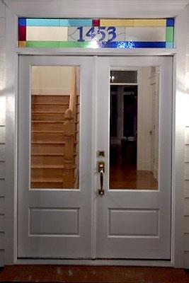 address transom window