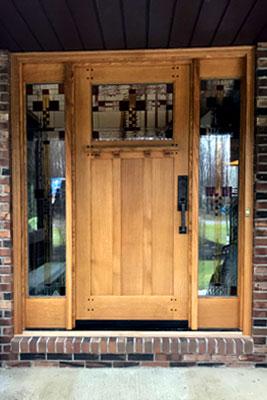 sidelights front door