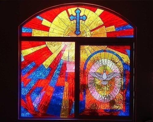 church stain glass windows
