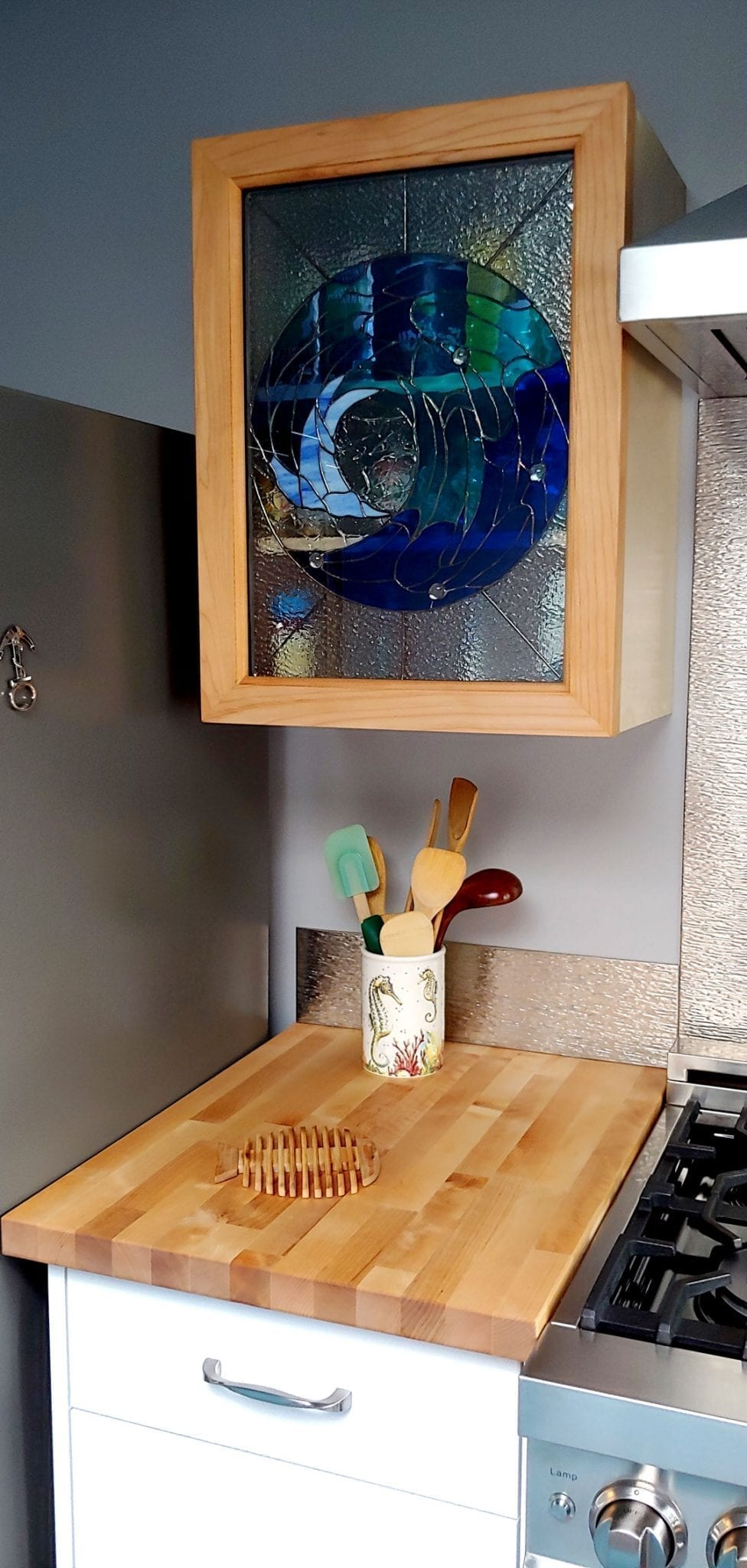 Stained Glass For Kitchen Cabinets Inserts Doors And Windows