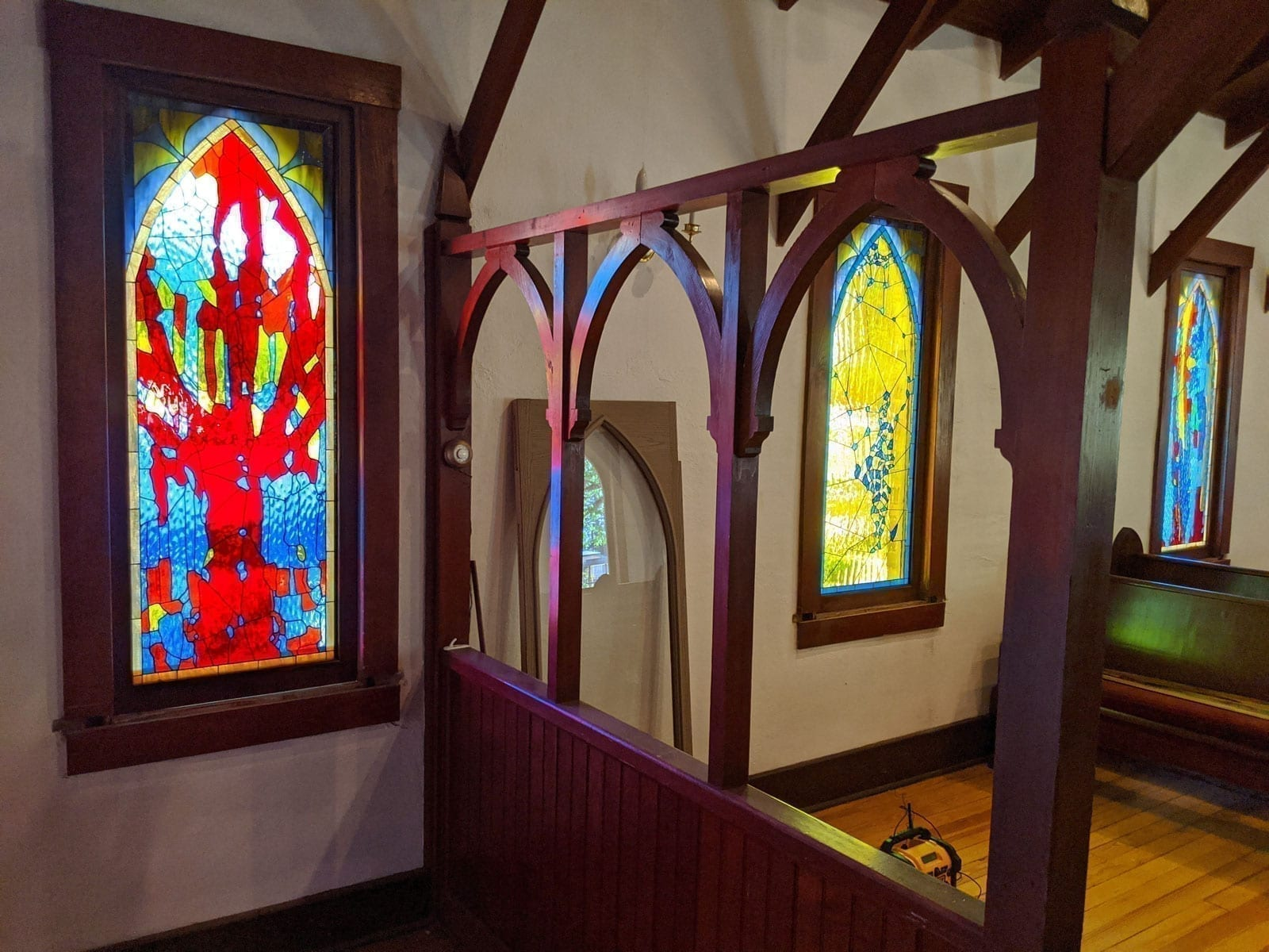 The Kendrick Chapel Stained Glass Project in Las Cruces NM