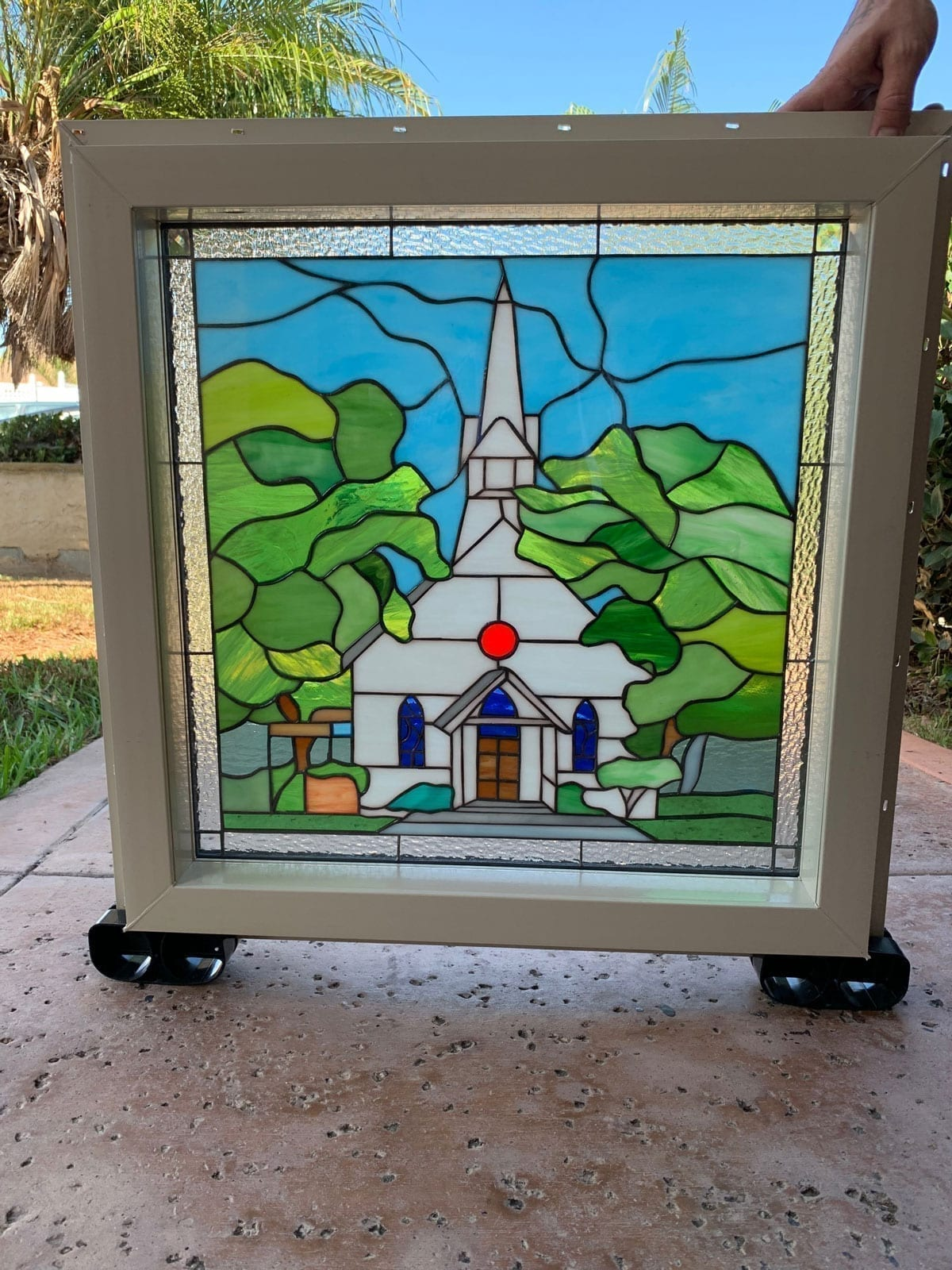 Custom design through finished Stained Glass