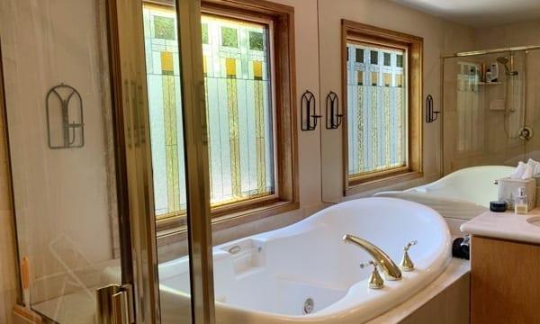 Bathtub Stained Glass