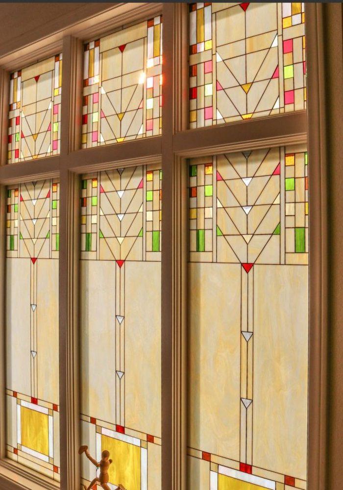 Stained GlassPraire Style Window